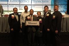 Missouri councilors after 2 days hard at work.